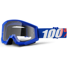 100% Strata Anti Fog Clear Goggles Kinder nation